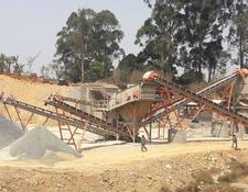 Constmach crushing plant 120-150 tph CAPACITY CRUSHING PLANT FOR HARD STONES