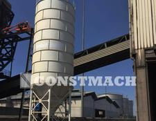 Constmach cement silo 500 Ton Capacity Bolted Cement Silo For Sale