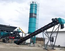 Constmach concrete plant 2 YEARS WARRANTY, CE CERTIFIED CONCRETE PLANT