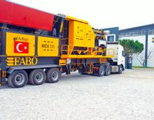 Fabo MCK-110 MOBILE CRUSHING & SCREENING PLANT | JAW+SECONDARY