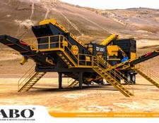Fabo MCC SERIES 200-250 TPH MOBILE CONE CRUSHER PLANT FOR HARDSTONE