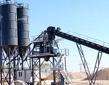 Constmach concrete plant FIX TYPE CONCRETE PLANT 60 m3/h, YEARS WARRANTY