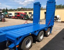 XZ low bed semi-trailer Louault