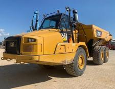 Caterpillar articulated dump truck 730