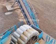 Constmach crushing plant System Bucket Wheel Washer