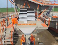 Constmach crushing plant Bucket Wheel Sand Washing Systems Best Price