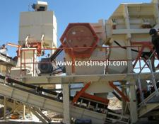 Constmach jaw crusher 60-80 tph CAPACITY PRIMARY